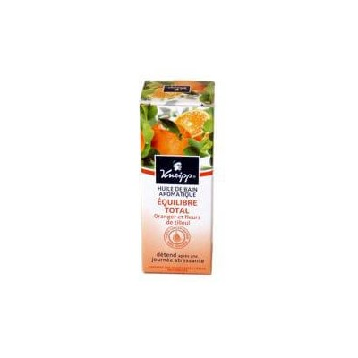 Huile de bain oranger et fleurs de tilleul