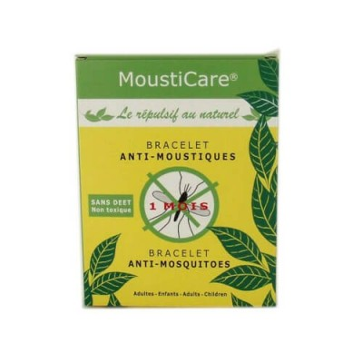 Bracelet anti-moustiques Mousticare