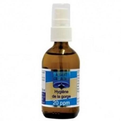 Argent Colloïdal Hygiene de la gorge 20ppm 60ml