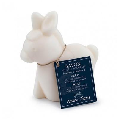 Savon au lait d'ânesse forme d'âne