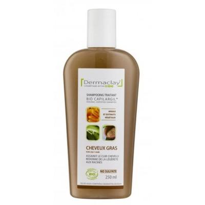 Shampooing traitant cheveux gras Bio Capilargil