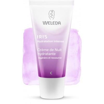 Crème de Nuit hydratante à l'iris