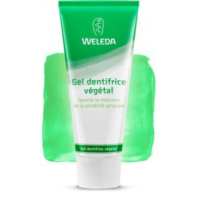 Gel dentifrice végétal