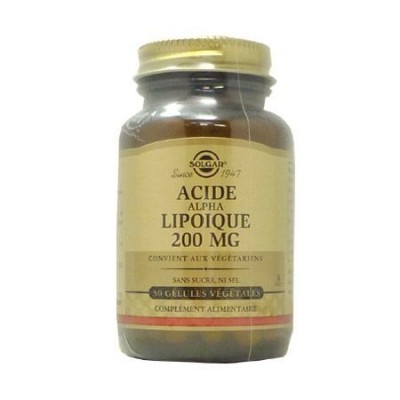Acide Alpha Lipoïque 200mg