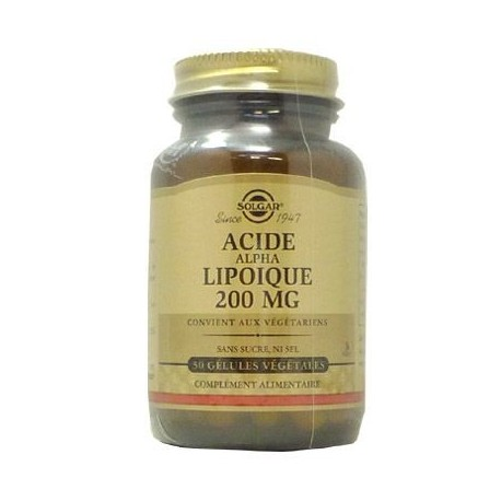 Acide Alpha Lipoïque 200mg