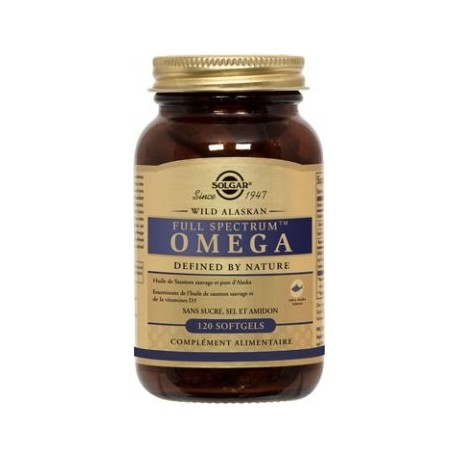 Full Spectrum Omega 120 gélules