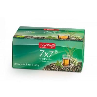 7X7 Alcaplantes Tisane 50 sachets filtres