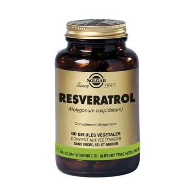 Resvératrol 100 mg Solgar