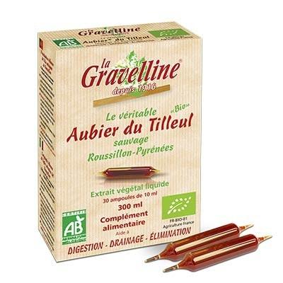 Véritable Aubier de Tilleul Sauvage du Roussillon en Ampoules