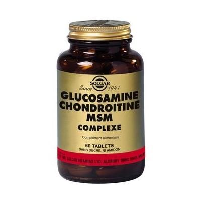 Glucosamine - chondroïtine MSM  60 tablettes