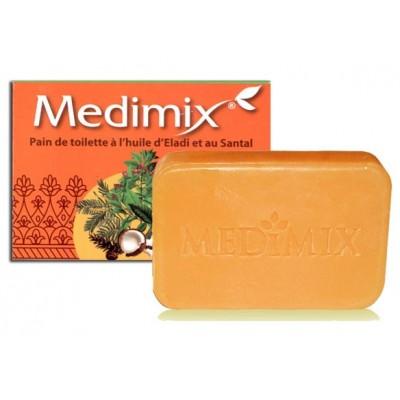 Pain de toilette à l'huile d'Eladi et au Santal Medimix