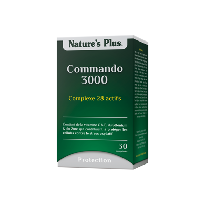 Commando 3000 nature's plus