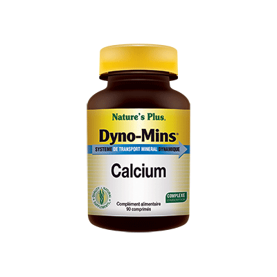 Dyno mins calcium Nature's Plus