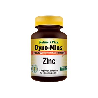 Dyno mins zinc 30 comprimés