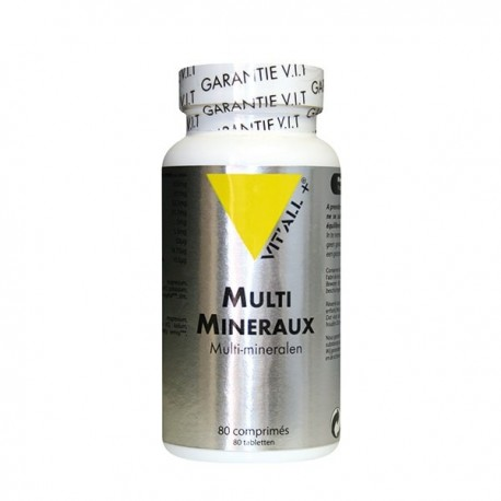 Multi-minéraux Vitall+