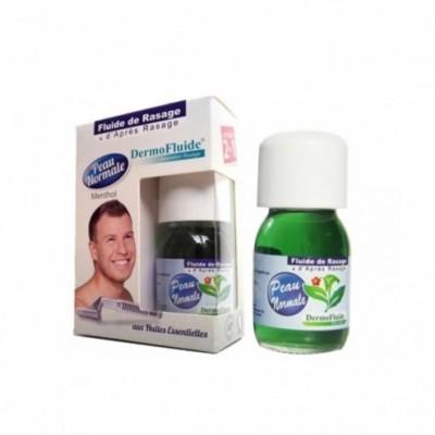 Fluide de rasage au menthol et d'après-rasage pompe