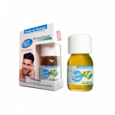 Fluide de rasage sans menthol et d'après-rasage