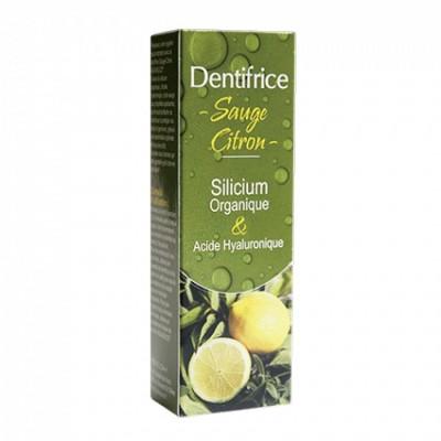 Dentifrice sauge citron