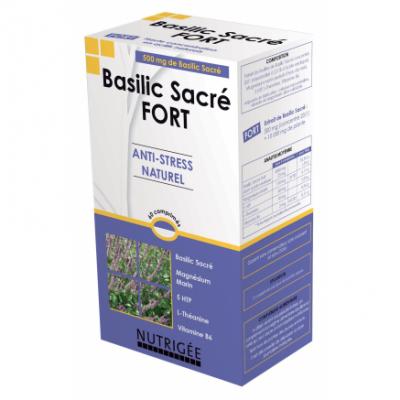 Basilic Sacre Fort 60 comprimes