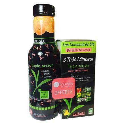 Boisson 3 thes Minceur Bio 300ml