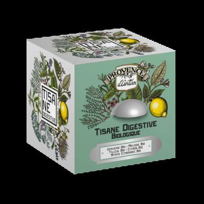 Tisane digestive bio cube en metal