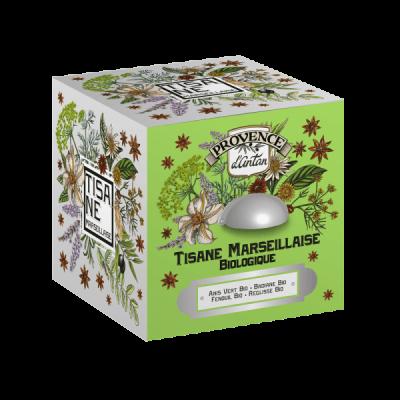 Tisane Marseillaise Biologique cube en métal