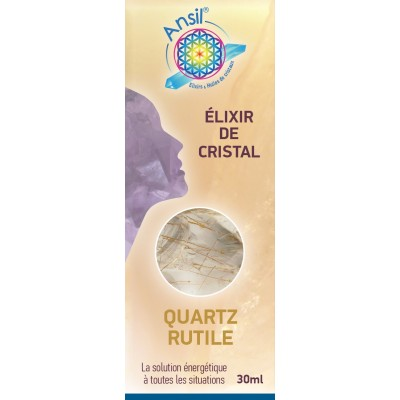 Elixir de Quartz Rutile - 30ml