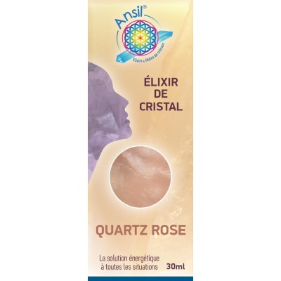Elixir de Quartz Rose - 30ml