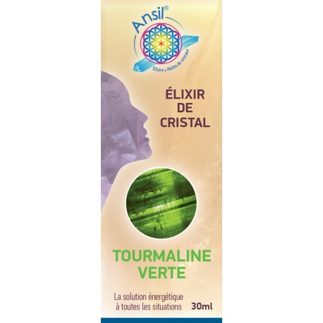 Elixir de Tourmaline Verte - 30ml