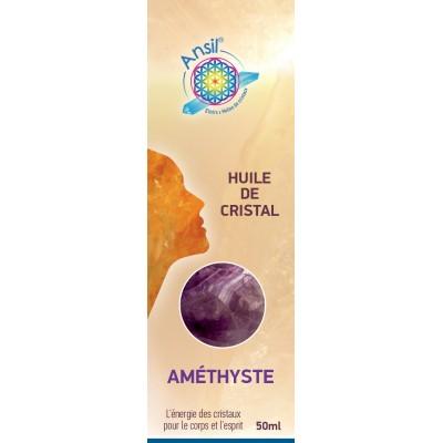 Huile de cristaux Améthyste - 50ml