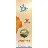 Huile de cristaux Chalcopyrite - 50ml