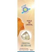 Huile de cristaux Cristal de roche - 50ml