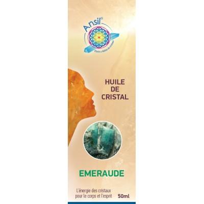 Huile de cristaux Emeraude - 50ml