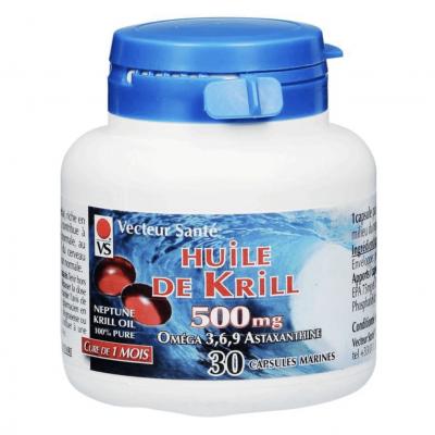 Huile De Krill - 30 capsules