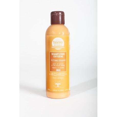 Shampooing Oxygènant rythme orange chute de cheveux et pellicules- 200 ml