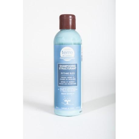 Shampooing Structurant Rythme Bleu cheveux abimes et colores - 200 ml