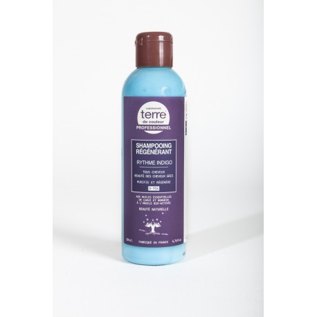 Shampooing Régénérant Rythme Indigo - 200 ml