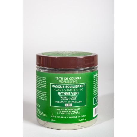 Masque equilibrant avant shampooing rythme vert  - 320 g
