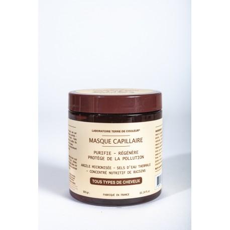 Masque Capillaire-purifie-régènère-protège de la pollution - 300g