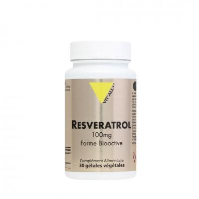 Resveratrol 100mg 30 gélules