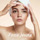 Peau jeune/acné