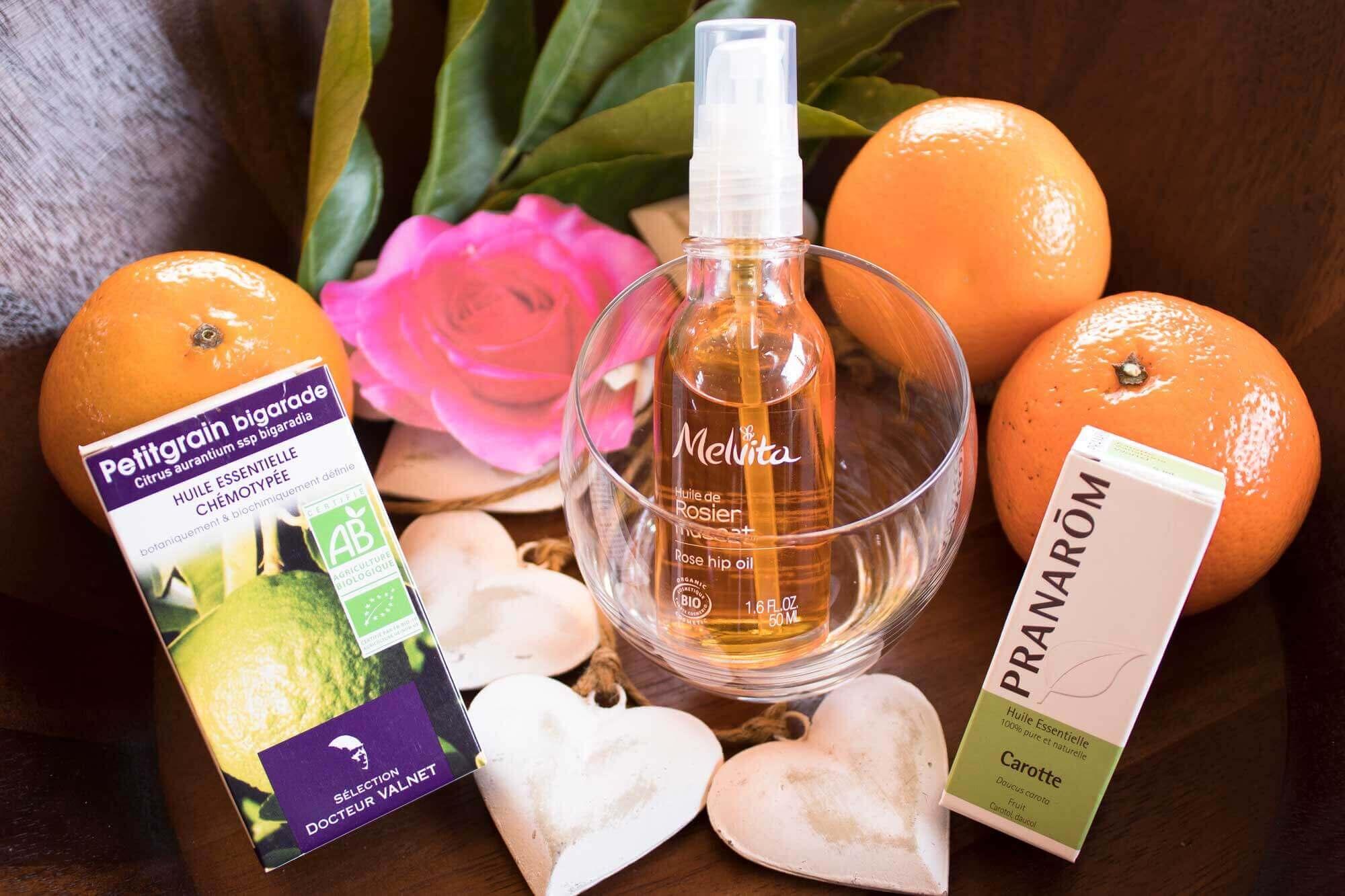 Recette serum anti ange bio pour le visage